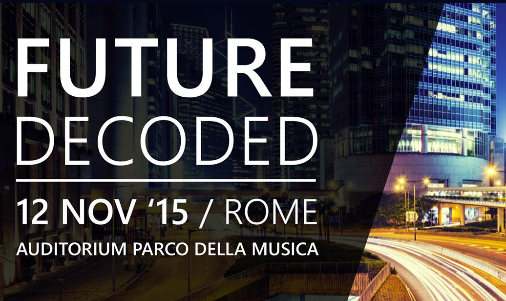 future decode 2015 roma