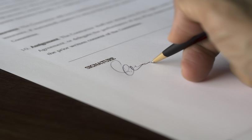 recesso del contratto