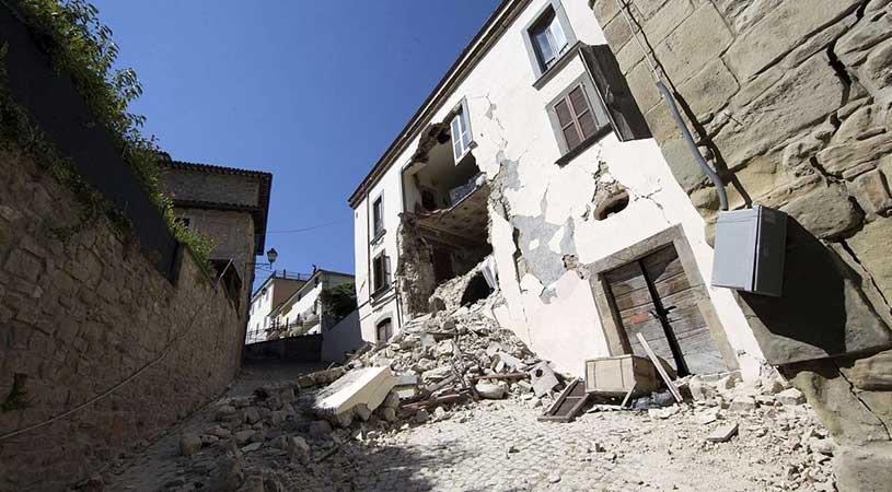 credito d'imposta per i danni causati dal terremoto