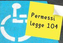 permessi legge 104