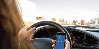 uso del cellulare alla guida