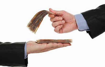 stipendio in contanti