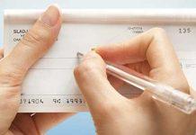 utilizzo assegni libretti e contanti