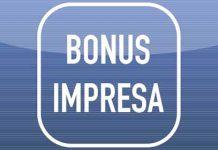 bonus impresa