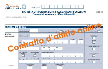Come Registrare Il Contratto Du0027affitto Online
